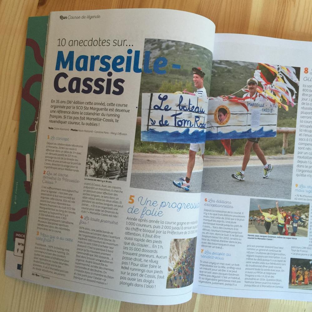 Run Magazine Marseille Cassis