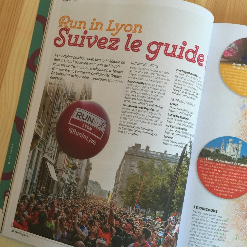 Run Magazine Run In Lyon